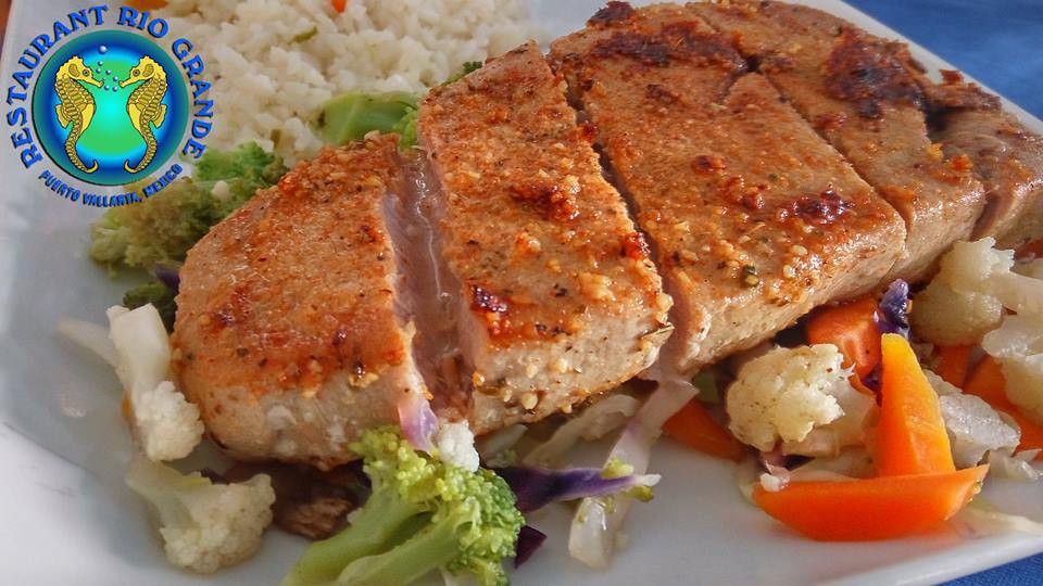 Have you tried our delicious and juicy tuna to Cajun?